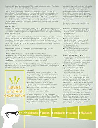 Client Connection, July 2012, feature