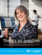 Co-operators, print ad - pre-retirement