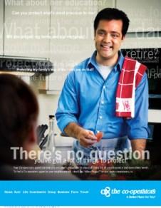 Co-operators, print ad - single parent