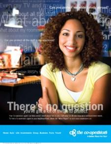 Co-operators, print ad - youth