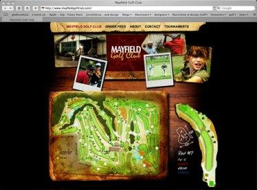 Mayfield Golf Club, website (2009)