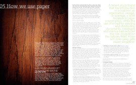 The Paper Revolution, spread (first printing)
