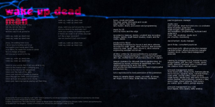 U2 - Pop, spread
