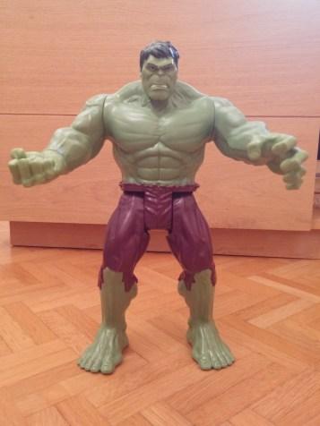 Hulk pas content