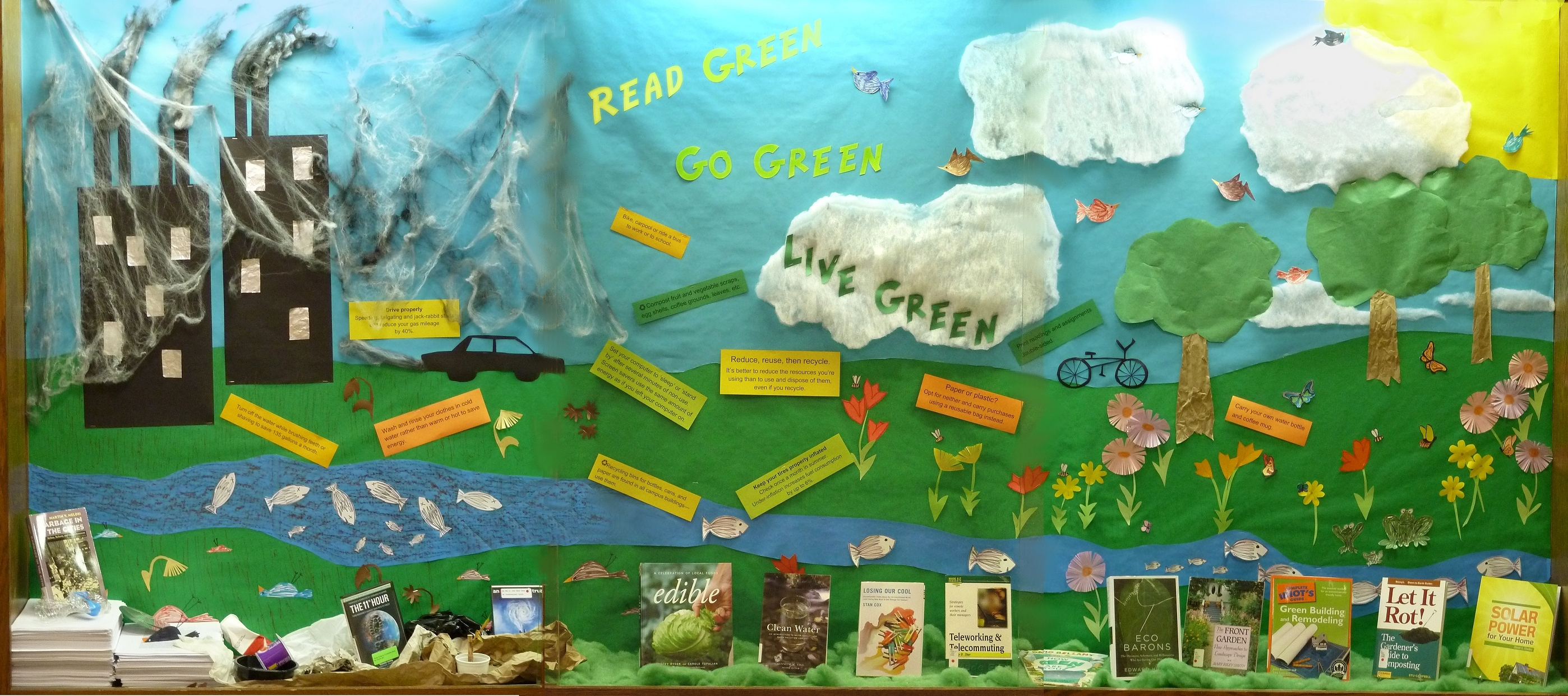 Read Green Go Green Live Green Reynolds Library Blog