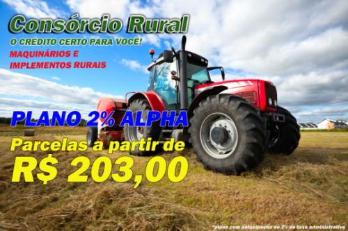PLANO MAQUINÁRIO RURAL 2%