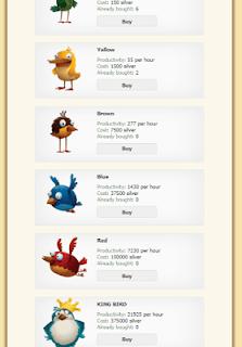 Comprar aves en Golden Farm