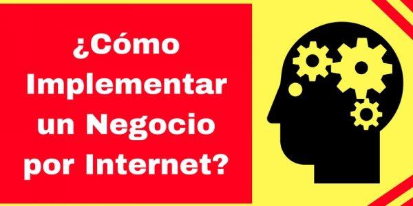 Implementación de los negocios por Internet