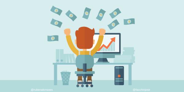 Puntos para ganar dinero por Internet