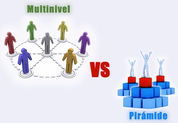 Multinivel y pirámide