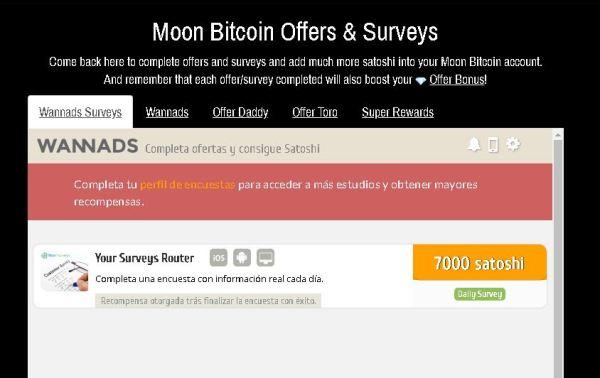 MoonBitcoin Ofertas