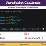 JavaScript Quiz – Find out the size of a javascript map object