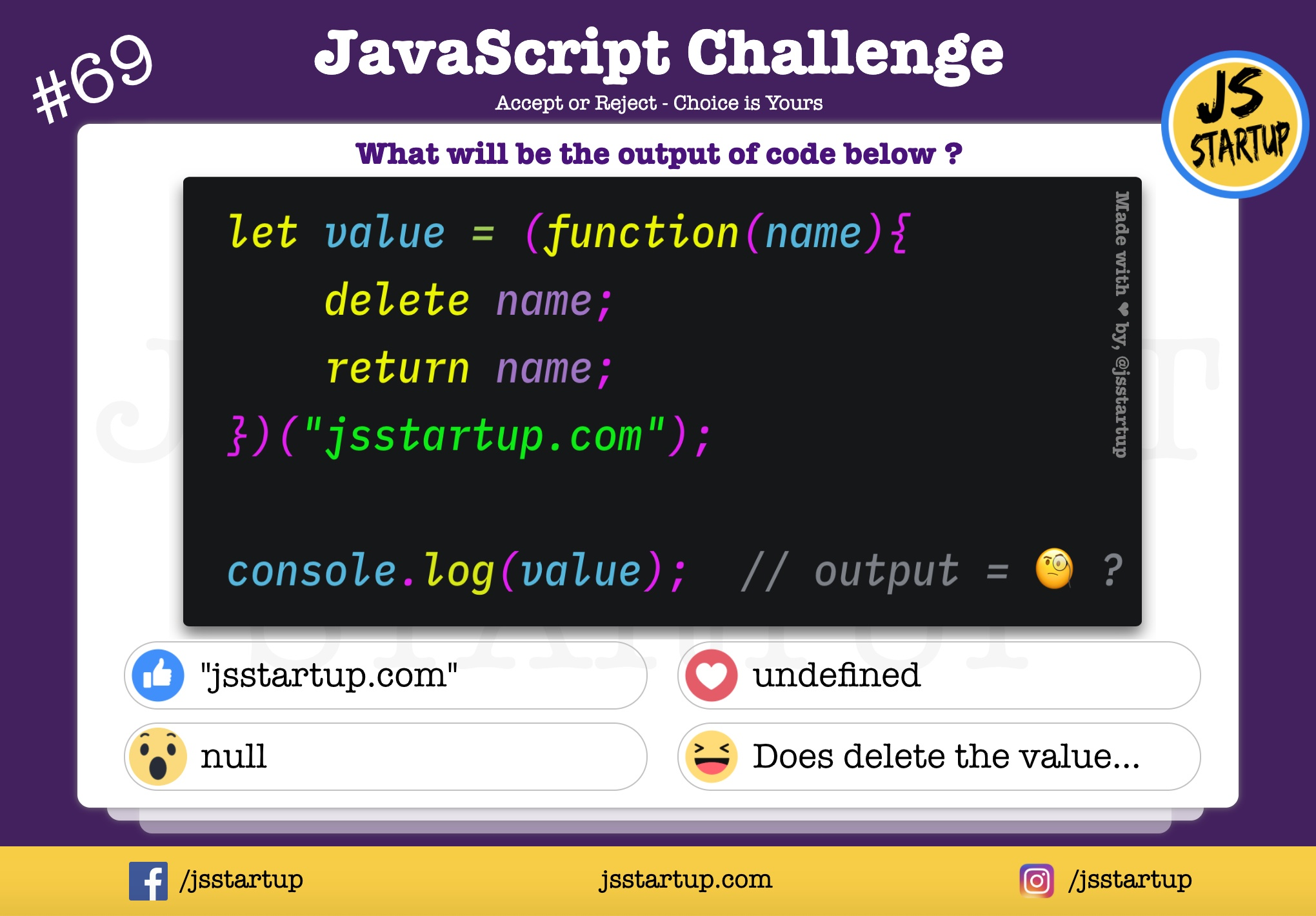 JavaScript Quiz – Does delete operator really work on the primitives