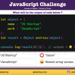 JavaScript-Quiz-what-is-really-object-entries-method-return-JS-Startup