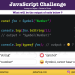 JavaScript Quiz - does typeof of Symbol really give a string - JS Startup