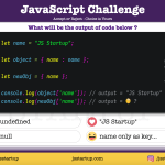 JavaScript Quiz - variable can be key and value in object