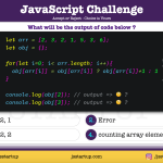 JavaScript Quiz - array element duplicate count with for loop - JS Startup