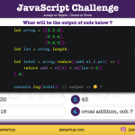 JavaScript Quiz - solve 2d array metric diagonal addition difference - JS Startup