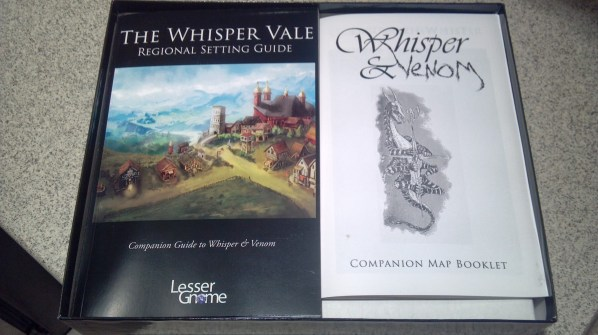 The Setting Guide and Map Companion books. Click to Enlarge.