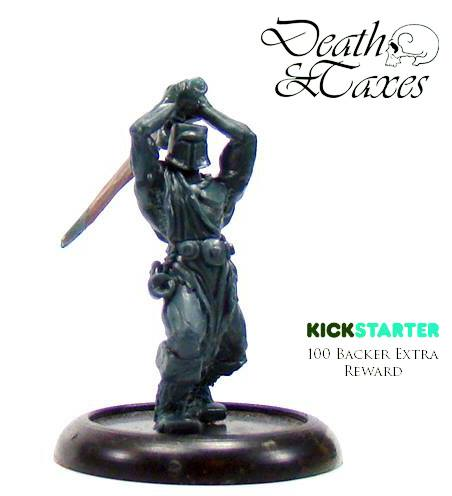 Finished sculpt for Death & Taxes from Lesser Gnome. Click to Enlarge.