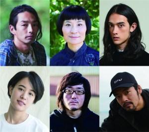 Cast portraits of Miren no Yurei to Kaibutsu