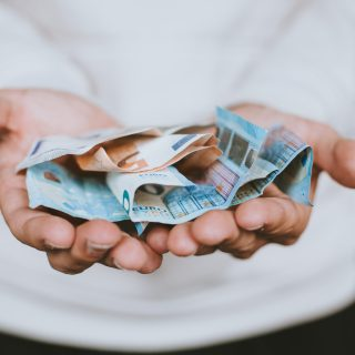 Donation Euro notes