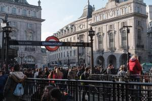 London Underground Piccadilly Circus