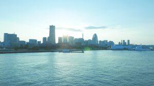 waterfront area in Yokohama