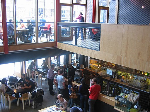 Young Vic Theatre Foyer
