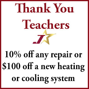 Teacher discount for a/c repair or new system