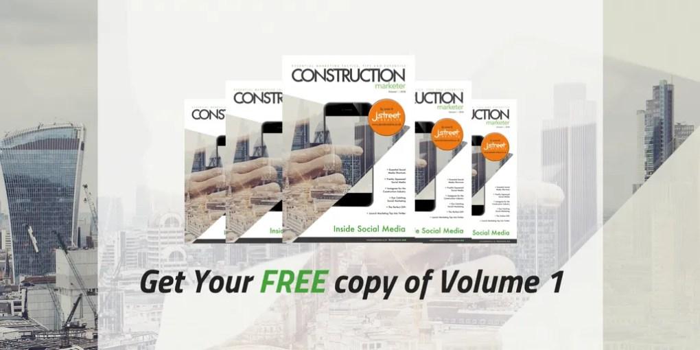 Construction Marketer Volume 1 - Inside Social Media