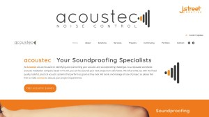 Acoustec Noise Control JStreet Creative Header Image