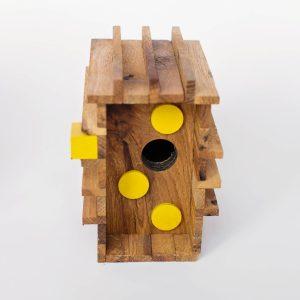 Memorial_birdhouse_KLEINE GEELPOOTRUITER