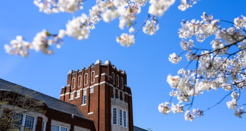 Pictured is Bibb Graves Hall at Jacksonville State University. (Matt Reynolds/JSU)