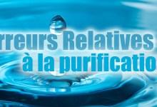 Photo of Erreurs relatives à la purification 2/6