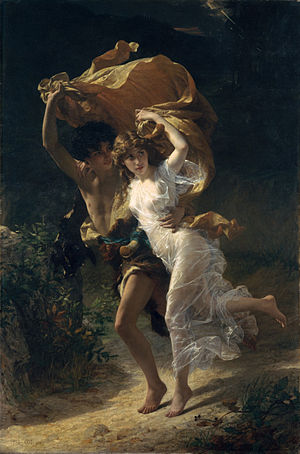 The Storm - Pierre-Auguste Cot http://www.metmuseum.org/art/collection/search/435997