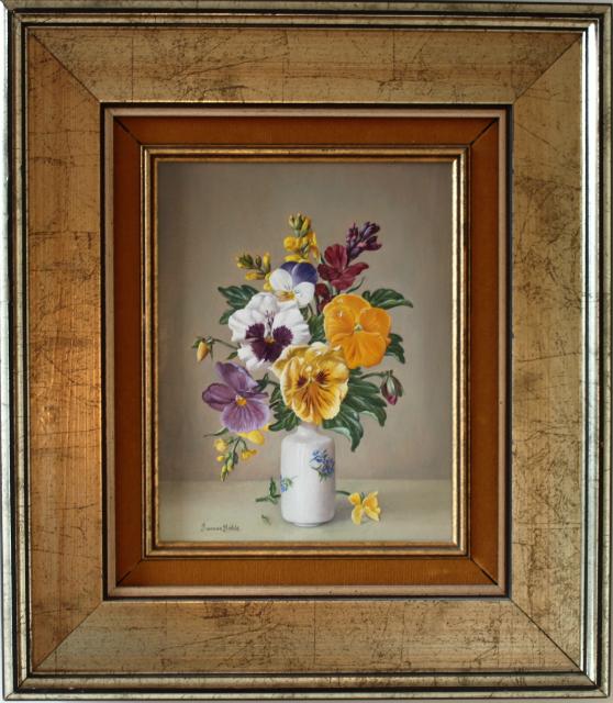 Pansies and Wallflowers – James Noble