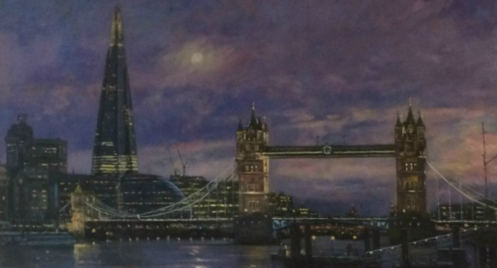 SOLD: Tower Bridge looking to the Shard – John Trickett
