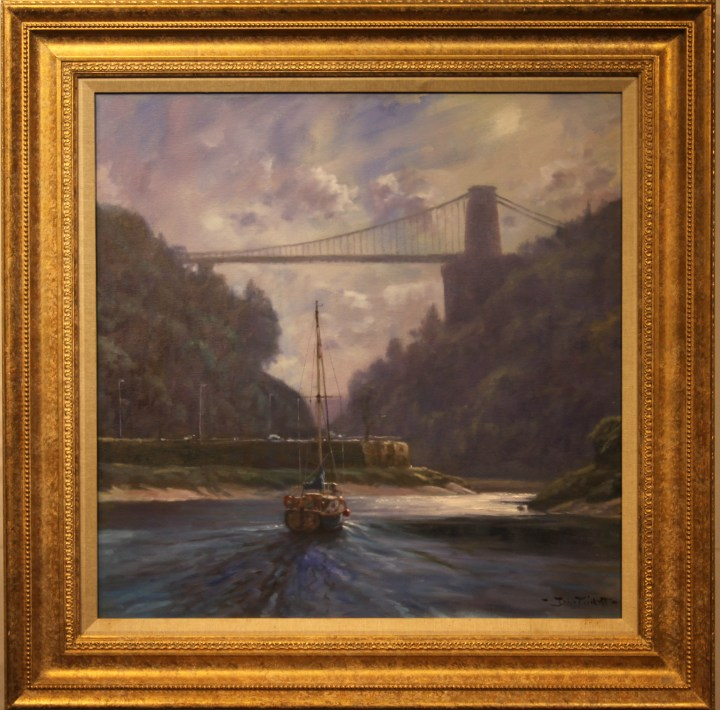 SOLD : Clifton Suspension Bridge by John Trickett