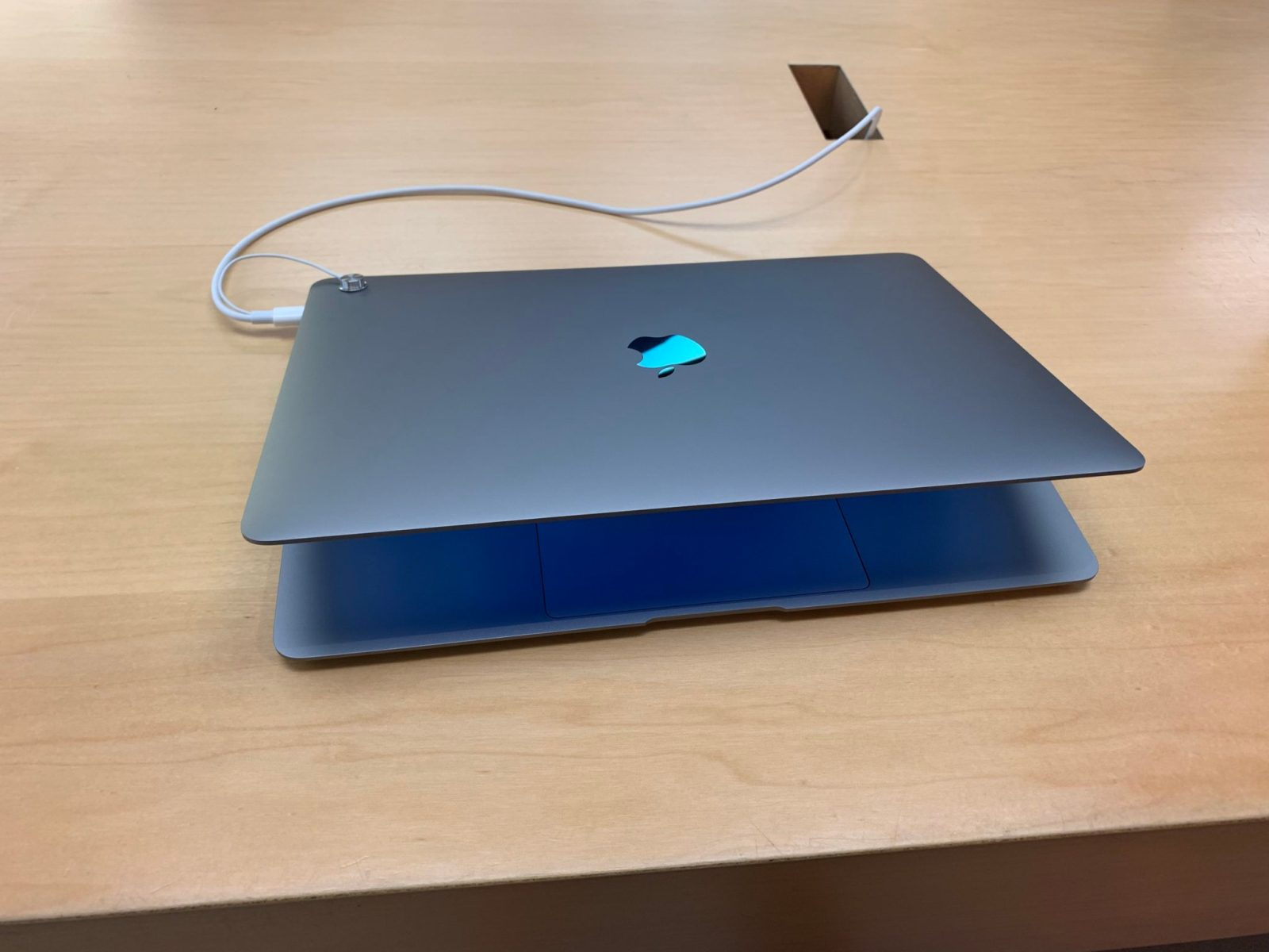 Space Gray MacBook Air 2018