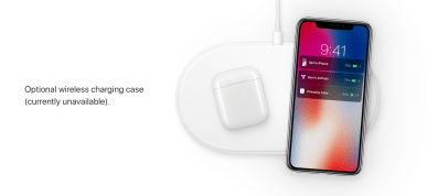 The only mention of AirPower on Apple.com
