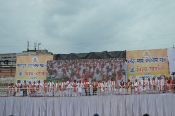 21st June JS Yog International Yoga Day Yashwant Stadium, Nagpur CM Devendra Fadnavis Union Minister Nitin Gadkari_113