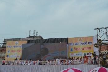 21st June JS Yog International Yoga Day Yashwant Stadium, Nagpur CM Devendra Fadnavis Union Minister Nitin Gadkari_39