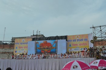 21st June JS Yog International Yoga Day Yashwant Stadium, Nagpur CM Devendra Fadnavis Union Minister Nitin Gadkari_41