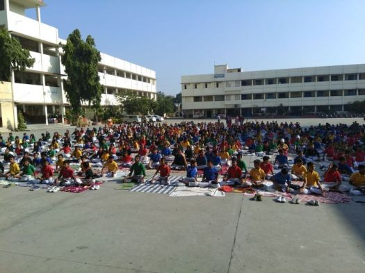 js yog shaleya spardha Gurunanak High school, Bezanbagh