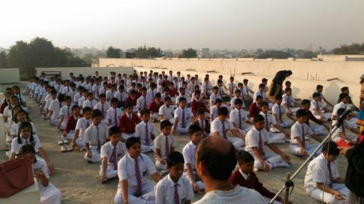 js yog shaleya spardha KTRS english high school 1
