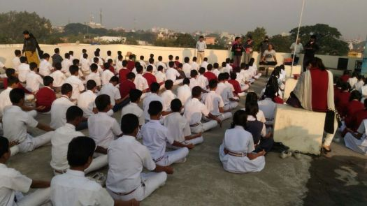 js yog shaleya spardha KTRS english high school 2