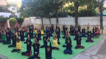 Sanskar-Vidyasagar-Vidyalay-Devnagar-7-1-20-Inter-school-yogasan-competition-training-2019