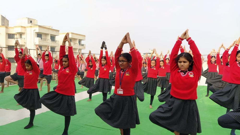 Swami-Awadeshanand-High-School-nandan-7-1-20-Inter-school-yogasan-competition-training-2019