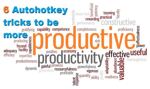 6 Autohotkey tricks